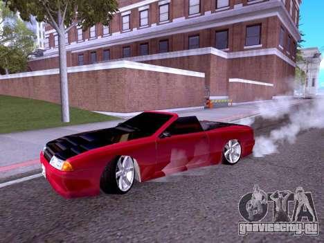 Elegy Cabrio HD для GTA San Andreas вид слева