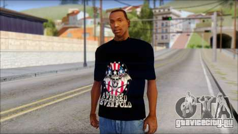 A7X Love It Or Die Fan T-Shirt для GTA San Andreas