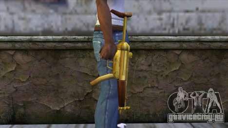 MP5 Gold from CSO NST для GTA San Andreas третий скриншот