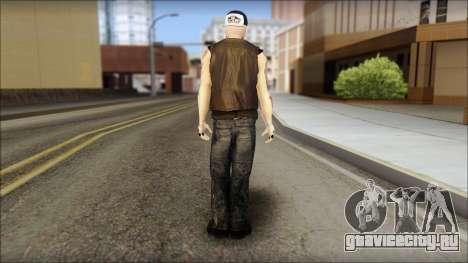 Benji from Good Charlotte для GTA San Andreas второй скриншот