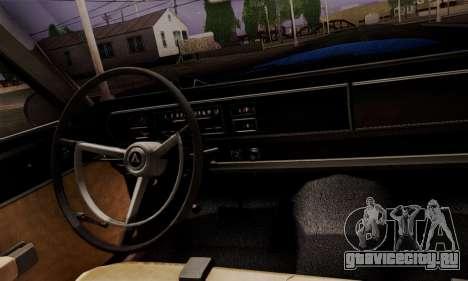 Dodge Coronet 440 Hardtop Coupe (WH23) 1967 для GTA San Andreas вид справа