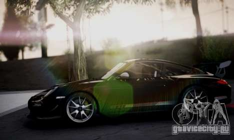 Porsche 911 GT3 RS4.0 2011 для GTA San Andreas вид изнутри