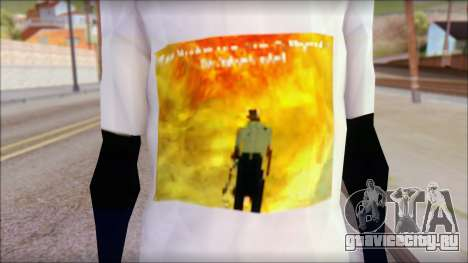 Monster von Back O Beyond T-Shirt для GTA San Andreas третий скриншот