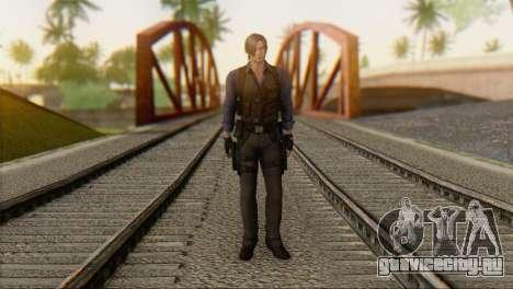 Leon .S.Kennedy v2 для GTA San Andreas