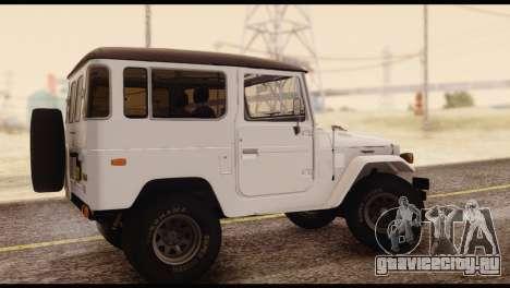 Toyota Land Cruiser (FJ40) 1978 для GTA San Andreas вид слева