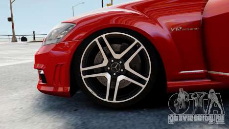 Mercedes-Benz S65 W221 AMG v1.3 для GTA 4 вид снизу