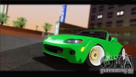 Mazda MX-5 2010 для GTA San Andreas