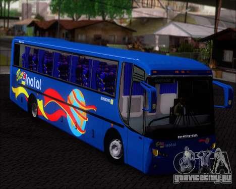 Busscar El Buss 340 Bio Linatal для GTA San Andreas вид изнутри