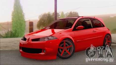 Renault Megane II HatchBack для GTA San Andreas