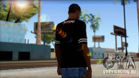 Billabong T-Shirt Black для GTA San Andreas второй скриншот