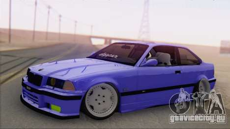BMW M3 E36 Coupe Slammed для GTA San Andreas