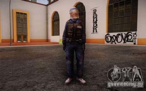 British Riot Police from Killing Floor для GTA San Andreas