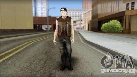 Benji from Good Charlotte для GTA San Andreas