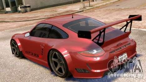 Porsche 911 GT3RSR для GTA 4 вид слева