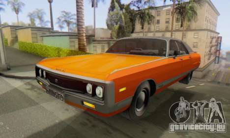 Chrysler New Yorker 1971 для GTA San Andreas вид справа