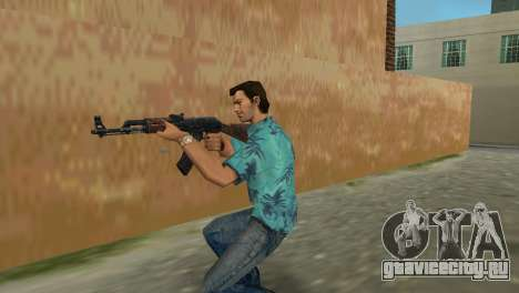 Автомат Калашникова Тип 1 для GTA Vice City четвёртый скриншот