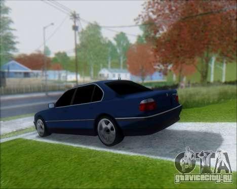 BMW 7 E38 для GTA San Andreas вид слева