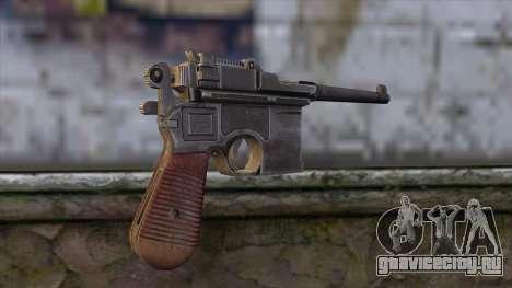 Mauser C-96 для GTA San Andreas второй скриншот