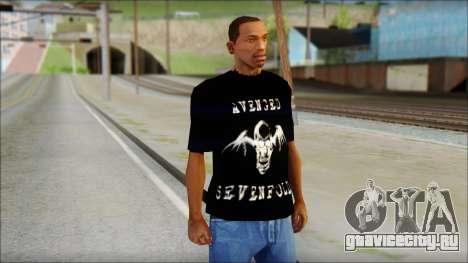 A7X Waking The Fallen Fan T-Shirt для GTA San Andreas