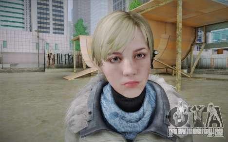Sherry Birkin Europa from Resident Evil 6 для GTA San Andreas третий скриншот