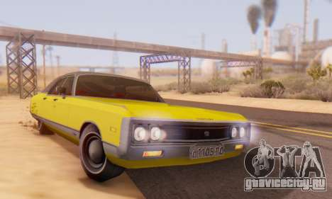Chrysler New Yorker 1971 для GTA San Andreas вид сверху