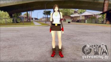 Final Fantasy VII - Tifa для GTA San Andreas