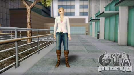Sarah from Dead or Alive 5 v1 для GTA San Andreas