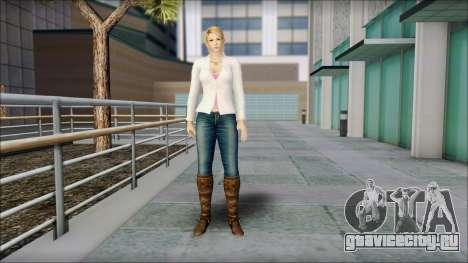Sarah from Dead or Alive 5 v1 для GTA San Andreas