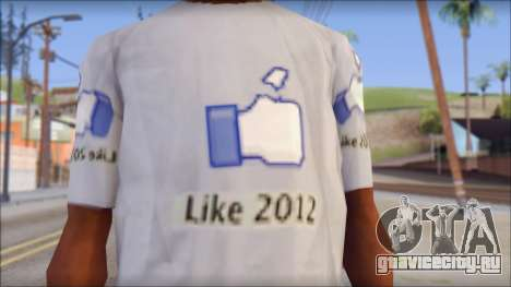 The Likersable T-Shirt для GTA San Andreas третий скриншот