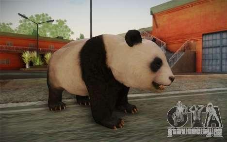 Гигантская панда для GTA San Andreas