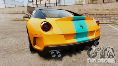 Ferrari 599 GTO PJ2 для GTA 4 вид сзади слева