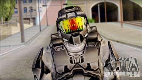 Masterchief Black from Halo для GTA San Andreas третий скриншот
