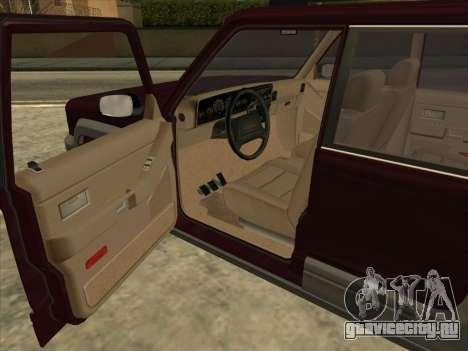 Landstalker from GTA 3 для GTA San Andreas вид сзади слева