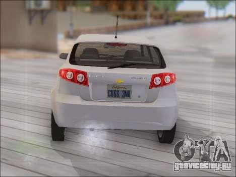 Chevrolet Lacetti для GTA San Andreas вид справа