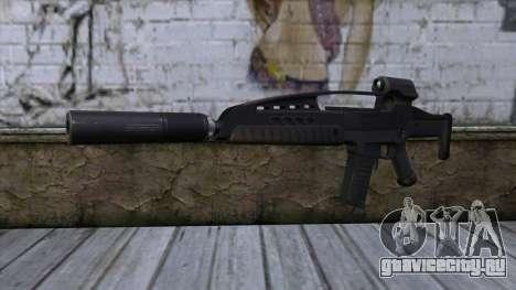 XM8 Assault Black для GTA San Andreas