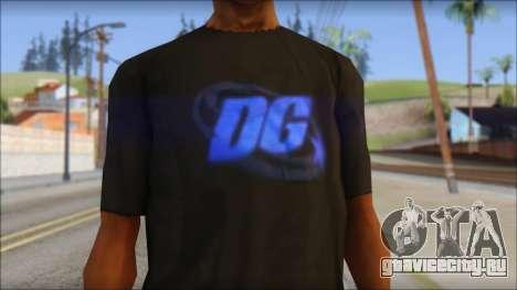 DG Negra T-Shirt для GTA San Andreas третий скриншот