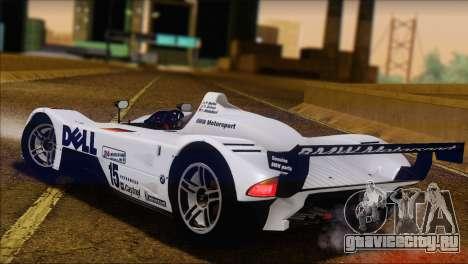 BMW 14 LMR 1999 для GTA San Andreas вид слева