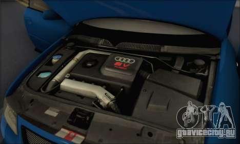 Audi A3 1999 для GTA San Andreas вид сверху