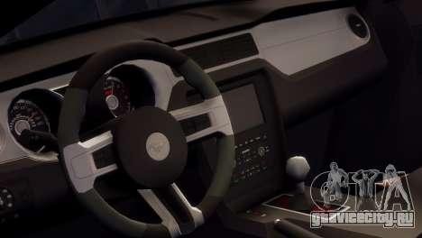 Ford Mustang GT 2014 Custom Kit для GTA 4 вид сбоку