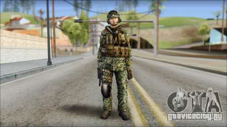 Forest UDT-SEAL ROK MC from Soldier Front 2 для GTA San Andreas