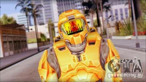 Masterchief Orange для GTA San Andreas