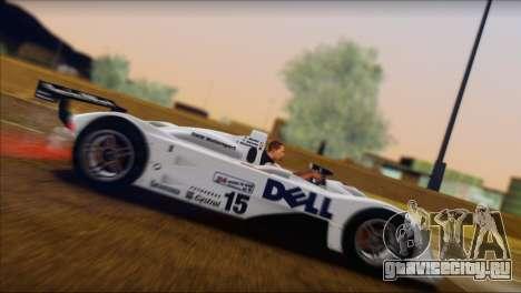 BMW 14 LMR 1999 для GTA San Andreas салон