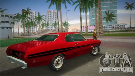 Dodge Dart Demon 340 1971 для GTA Vice City вид слева