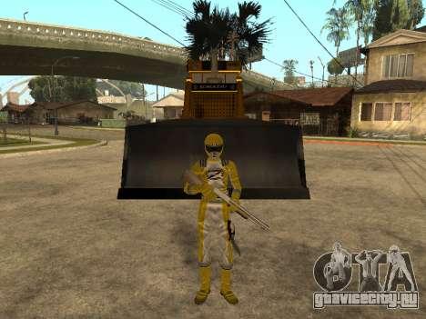 Power Rangers Operation Overdrive для GTA San Andreas четвёртый скриншот