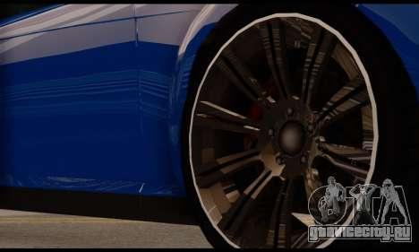 Ubermacht Zion XS 1.0 для GTA San Andreas вид справа
