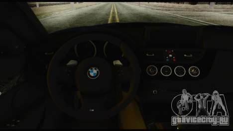 BMW Z4 sDrive28i 2012 для GTA San Andreas вид сзади слева
