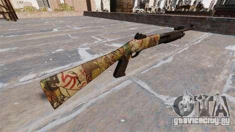 Ружьё Benelli M3 Super 90 ronin для GTA 4 второй скриншот