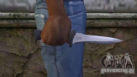 Knife from Resident Evil 6 v1 для GTA San Andreas третий скриншот