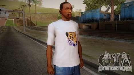 Leopard Shirt White для GTA San Andreas