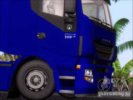 Iveco Stralis HiWay 560 e6 4x2 для GTA San Andreas
